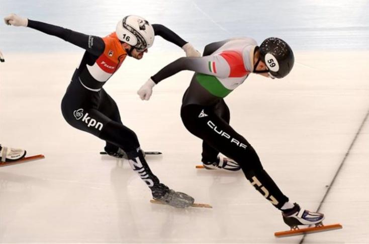 Rövidpályás gyorskorcsolya Eb - Magyar aranyérem 1500 méteren