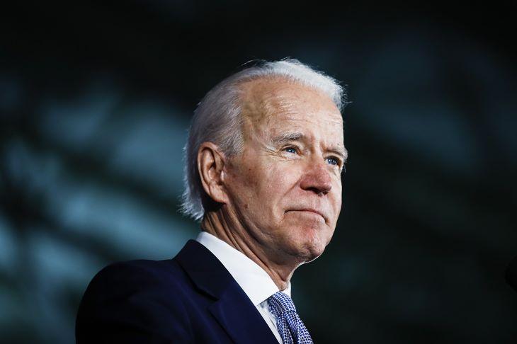 Kificamította a bokáját Joe Biden