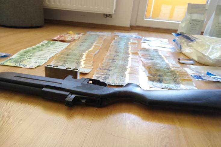 Tíztagú drogbandára csaptak le a rendőrök – VIDEÓ
