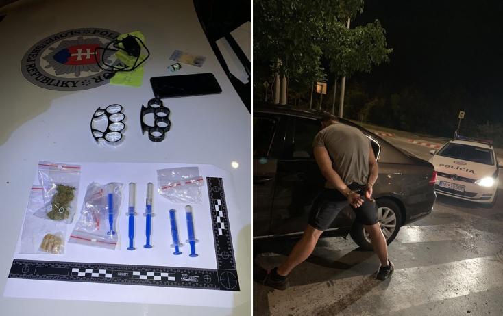 Amatőr közúti hiba buktatott le egy újabb drogdílert a Galántai járásból