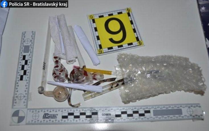 Metamfetaminnal üzletelő páros került rács mögé Pozsonyban