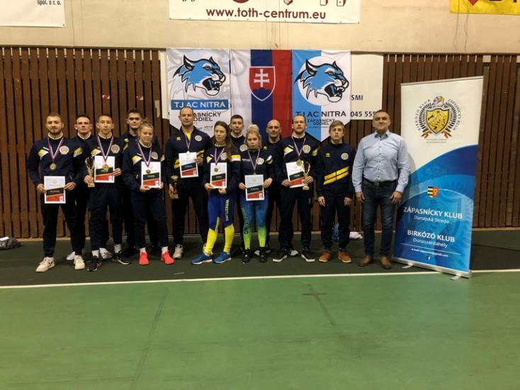 Négy dunaszerdahelyi bajnoki aranyérem szabadfogásban