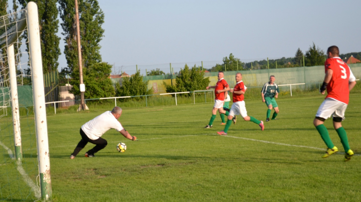 Öregfiúk focija: Háromszor 8, kétszer 6, egyszer 4 gól került a jegyzőkönyvekbe