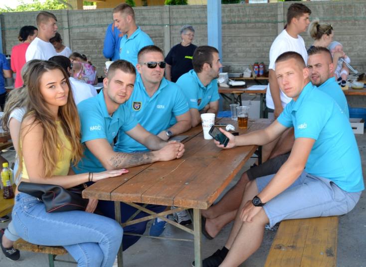 Öt csallóközi csapat a tűzoltóligában