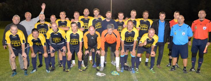 Öregfiúk focija: A Stavreco a bajnok