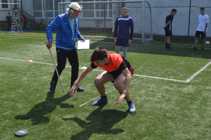 Tehetségvizsgák a sportiskolában