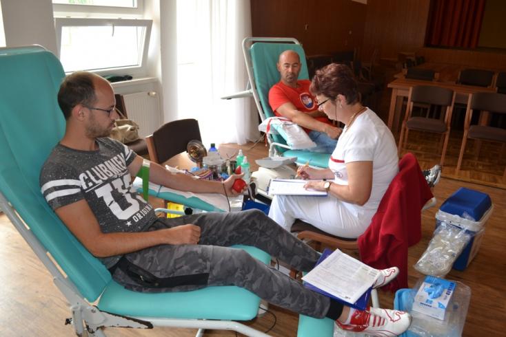 Önkéntes véradás – szappanszívvel