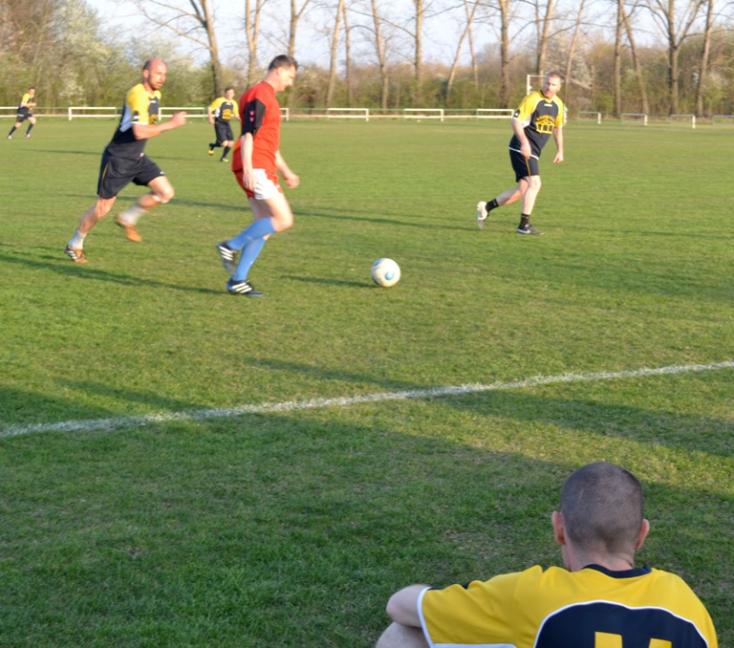 Öregfiúk focija: A DSC, ill. az Ajax az élen