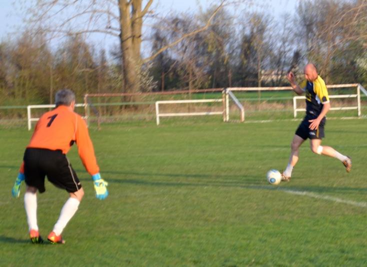 Öregfiúk focija: Nem volt hiány a gólokból