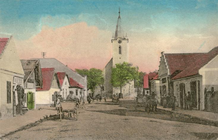 Kisváros a vidék közepén