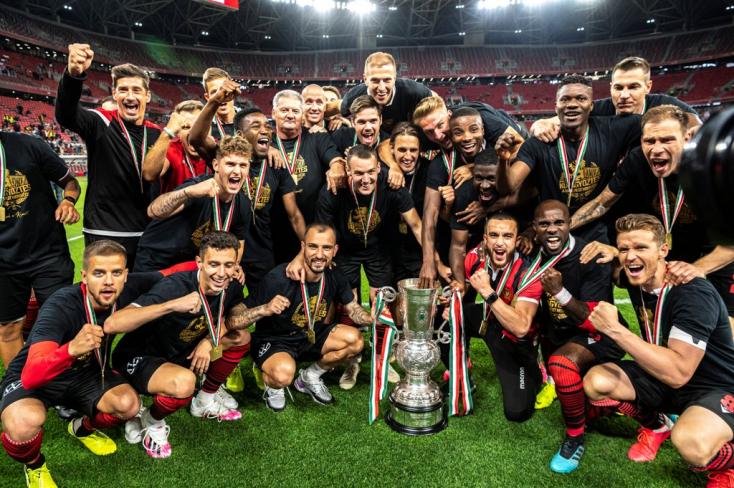 Magyar Kupa: A Mezőkövesd legyőzésével nyolcadszor a Honvédé a trófea