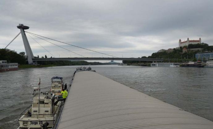 A Duna szlovákiai szakasza egyelőre korlátozások nélkül hajózható