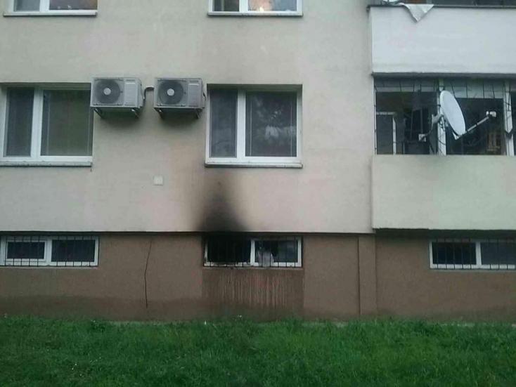 Tűz ütött ki hétfőn korán reggel egy dunaszerdahelyi panelházban!