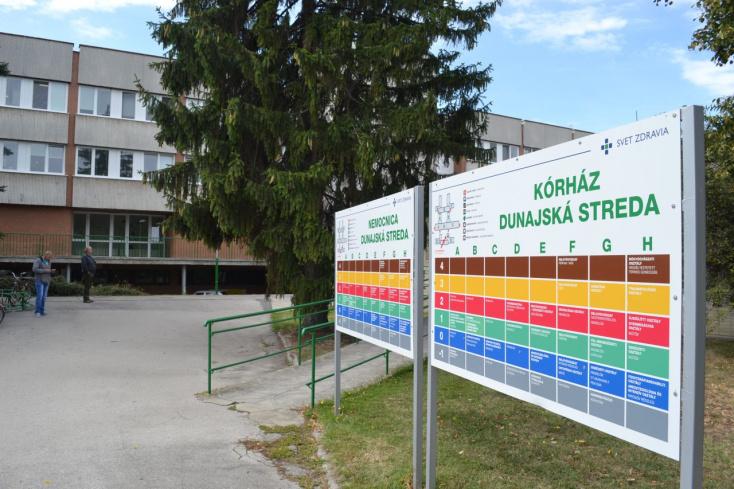 Koronavírusos lett egy férfi, akit a dunaszerdahelyi kórházban műtöttek – karanténban a sebészeti személyzet egy része!