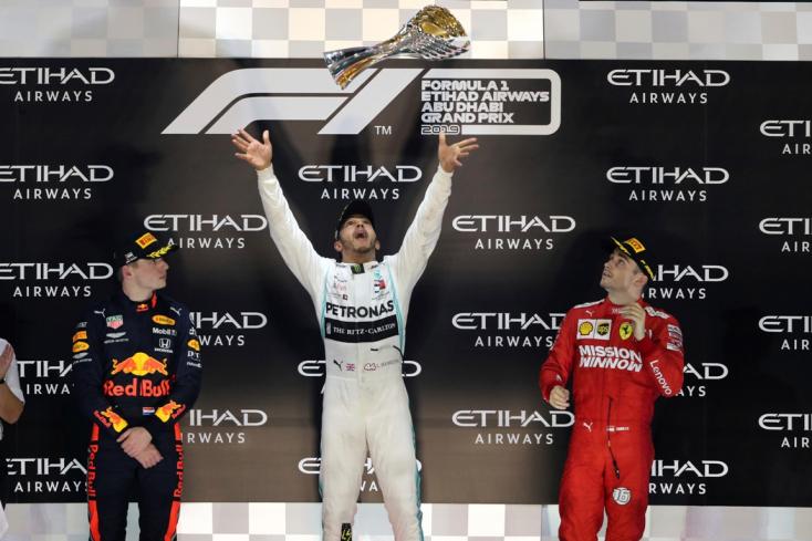 Abu-Dzabi Nagydíj: Hamilton nyerte az idényzáró futamot