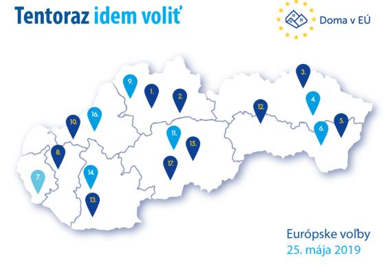 Indul az EP-választás roadshow-ja, Érsekújvárnál délebbre már ne számítsunk népszerűsítésre