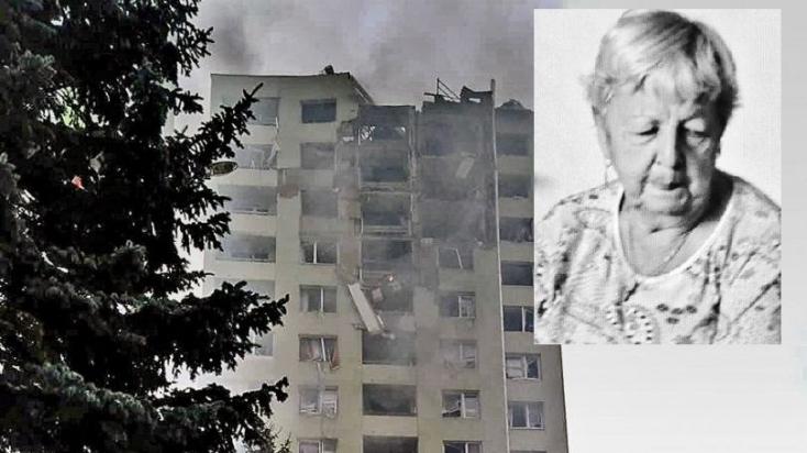 Most nyilvánították halottnak a nénit, aki eltűnt az eperjesi panelház tragédiája során
