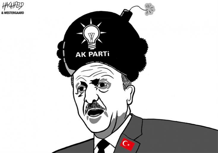 Egyre zakkantabb a török államfő, már mindenért hisztizik, mint egy vén díva
