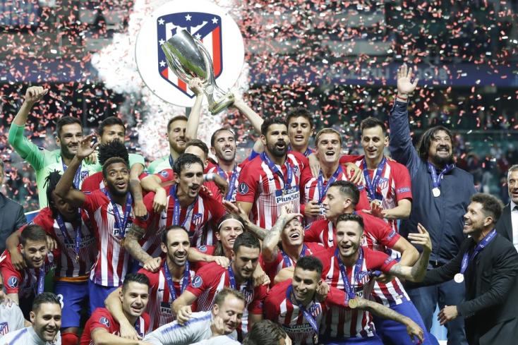 Európai Szuperkupa: Az Atlético harmadszor hódította el a trófeát
