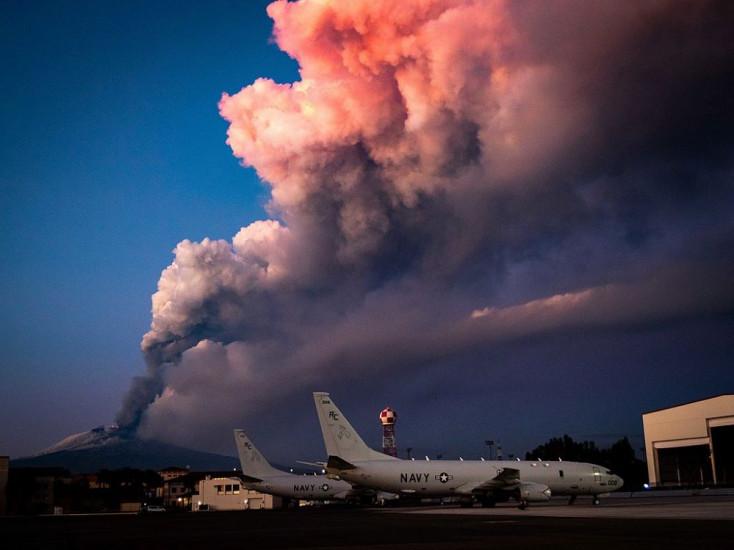 Hat hónap működés után úgy megnőtt a szicíliai Etna tűzhányó, hogy ekkora még nem volt sosem