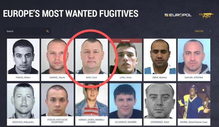 Csonti előkelő helyen szerepel a legkeresettebb európai bűnözők listáján