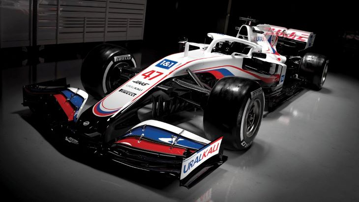 A Nemzetközi Doppingellenes Ügynökség kifogásolja a Haas Forma-1-es autójának színösszeállítását