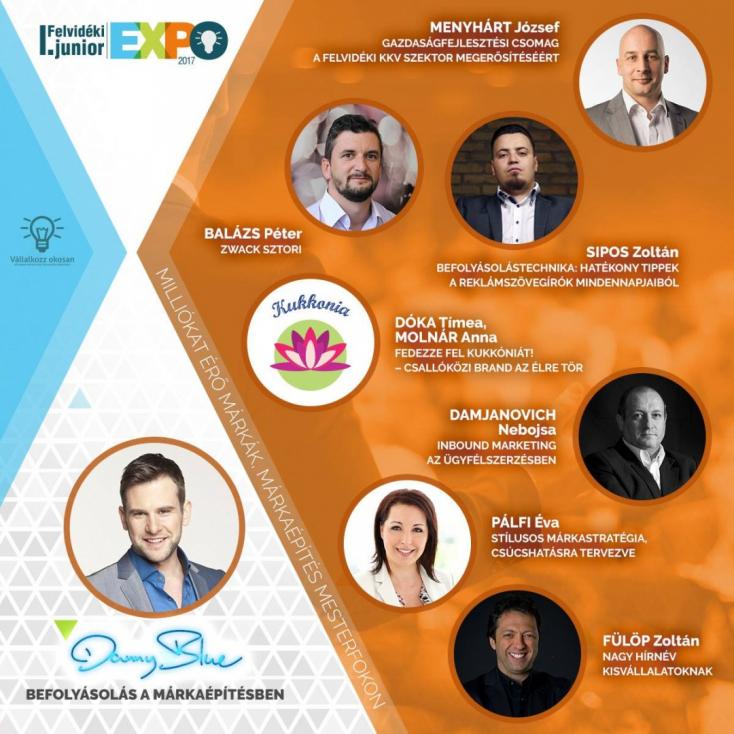 I. Felvidéki Junior Expo: Milliókat érő márkák, márkaépítés mesterfokon