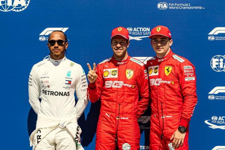 Kanadai Nagydíj - Vettel nyerte az időmérő edzést (Fotókkal)