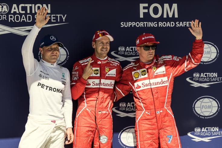 Magyar Nagydíj - Vettelé az első rajtkocka, Hamilton csak negyedik