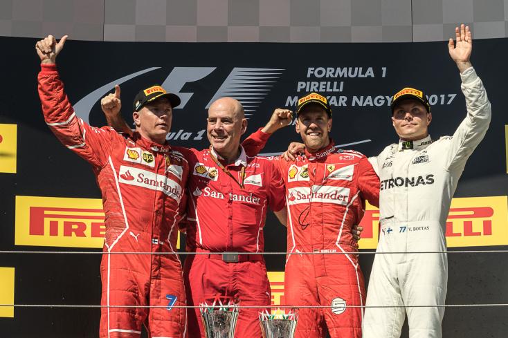 Magyar Nagydíj - Vettel nyert és növelte az előnyét összetettben