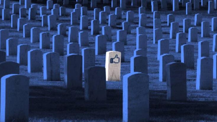A Facebookon lehet a világ legnagyobb temetője
