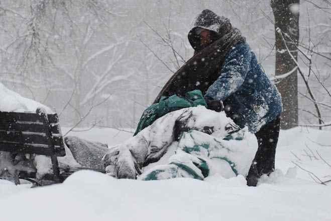 Csontfagyasztó hideg van az Egyesült Államokban, többen halálra fagytak