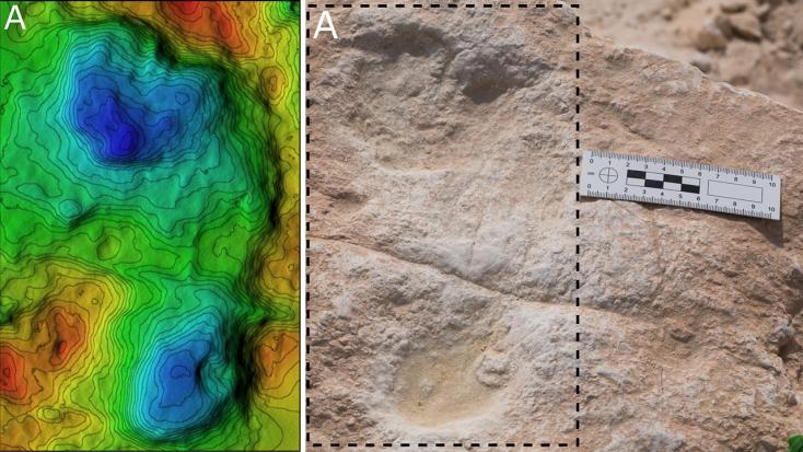 Mintegy 120 ezer éves emberi lábnyomokra bukkantak