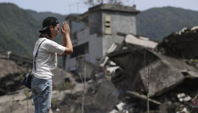 Erős földrengés rázta meg Délnyugat-Kínát - halottak is vannak