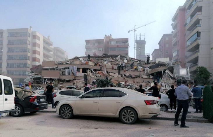 Nagy erejű földrengés rázta meg az Égei-tengert, a török partoknál áldozatokkal