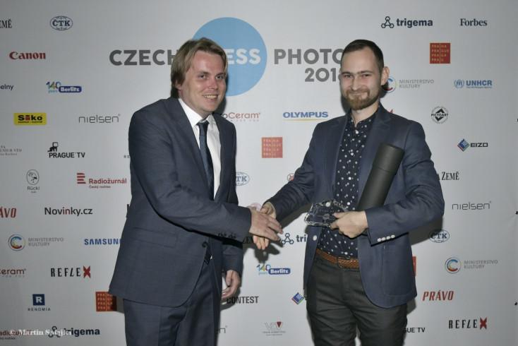 Különdíjat kapott Cséfalvay Á. András a cseh sajtófotó gáláján!
