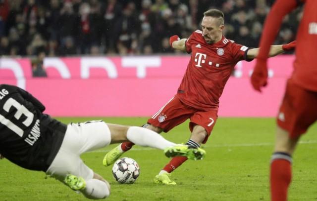 Ribéry megsérült a Bayern München edzésén
