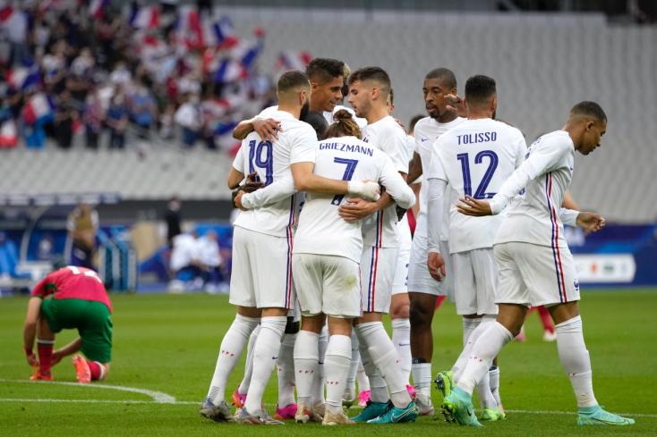 Nyertek a franciák,kikaptak az albánok Prágában