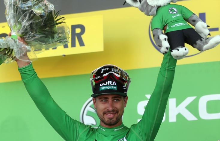 Tour de France: Sagan sprintsikere az ötödik szakaszban