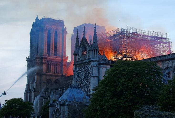 Nem sérült meg a tűzvészben a Notre-Dame orgonája