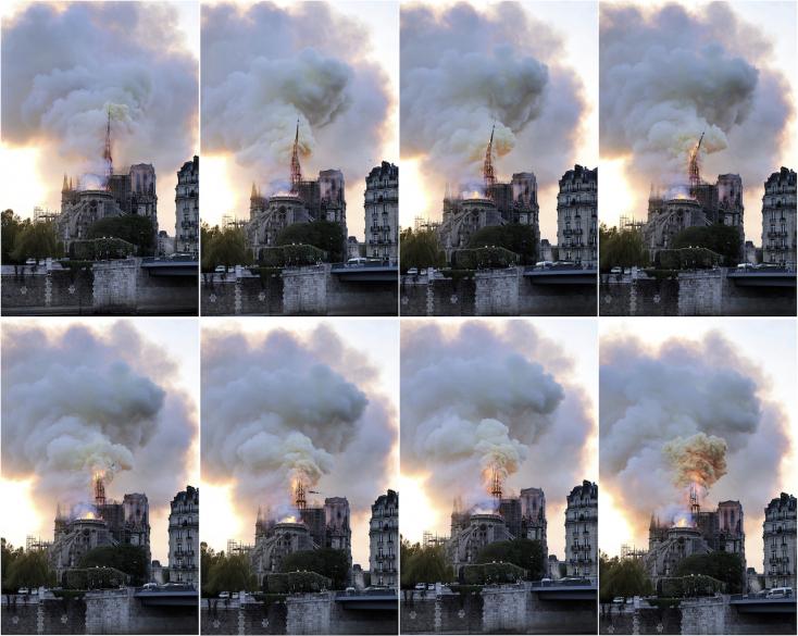 Közel volt a teljes pusztuláshoz a Notre-Dame, de fő szerkezetét sikerült megmenteni