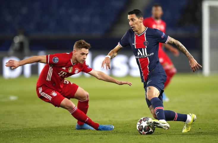 Bajnokok Ligája: A címvédő Bayern München nyert a PSG vendégeként, de kiesett