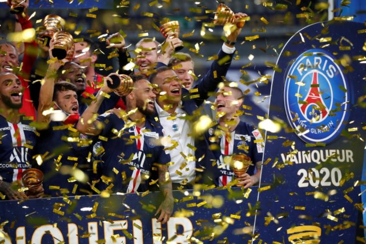 Triplázott Franciaországban a Paris Saint-Germain