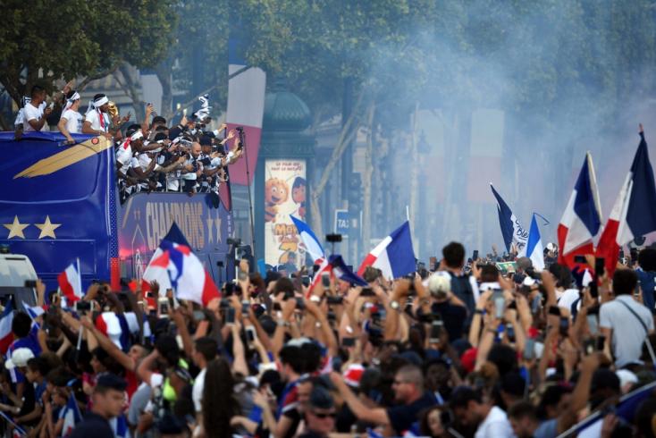 A vb-n szerepelt 736 labdarúgó közül 52-en születettek Franciaországban