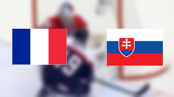 Hoki-vb: Franciaország – Szlovákia 3:6 (Online)