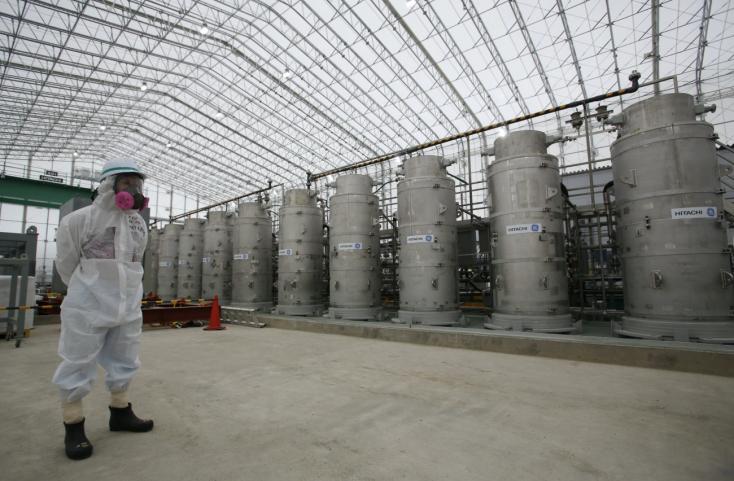 Az óceánba eresztika fukusimai atomerőműradioaktívan szennyezett vizét