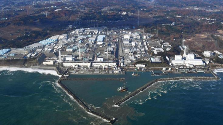 Hatos erősségű földrengés ráztameg Fukusimát