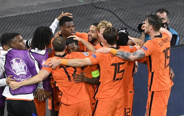 EURO-2020: Hollandia és Ukrajna produkálta az eddigi legtöbb gólt