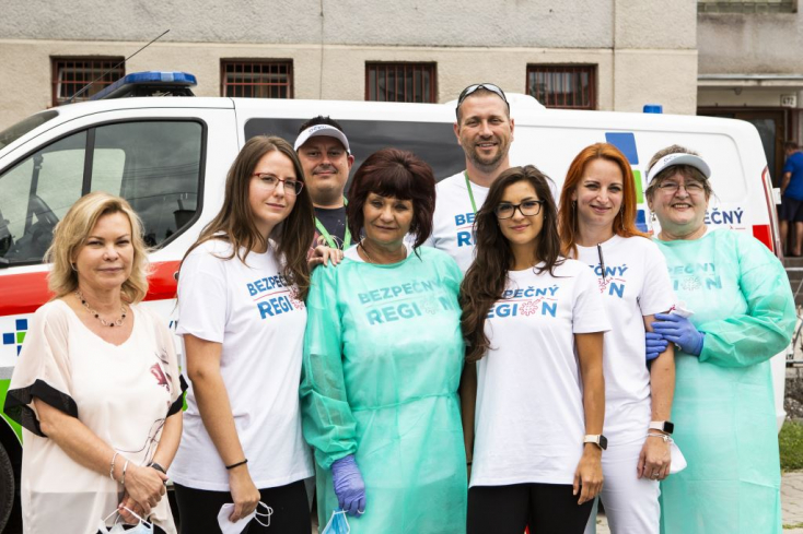 15 településen 533 embert oltottak be a galántai kórház dolgozói