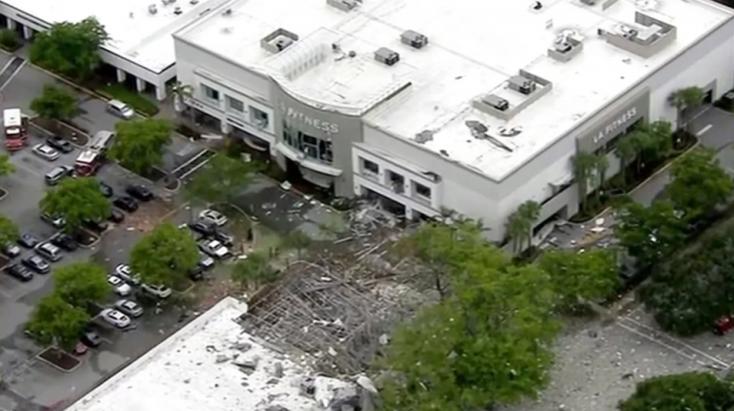 Gázrobbanás történt egy bevásárlóközpontban, sokan megsérültek